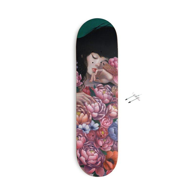 Age of Blossoms Accessories Skateboard by Stella Im Hultberg