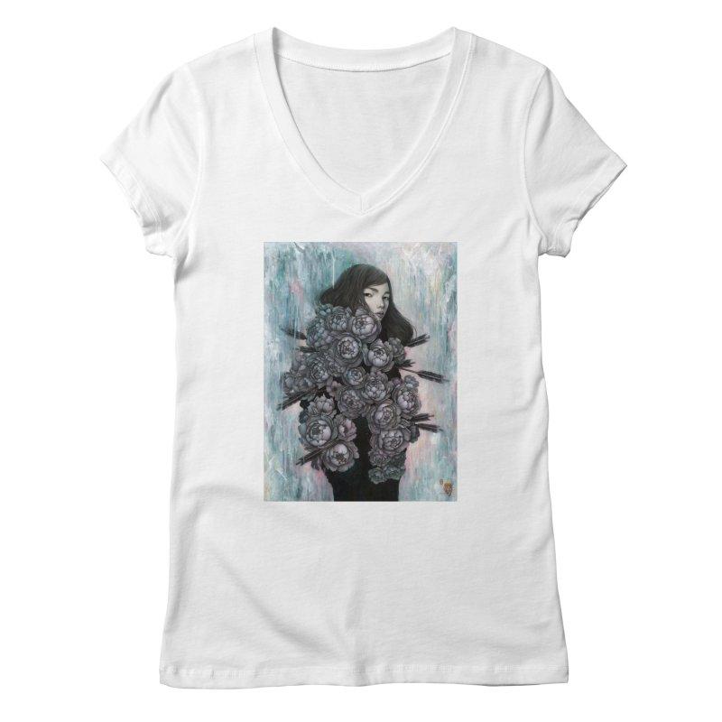 Artemis Women's V-Neck by Stella Im Hultberg