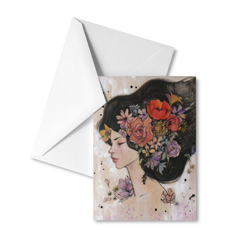 Bloom Accessories Greeting Card by Stella Im Hultberg