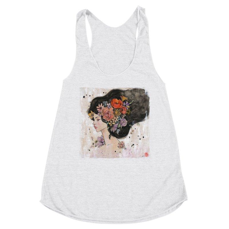 Bloom Women's Tank by Stella Im Hultberg