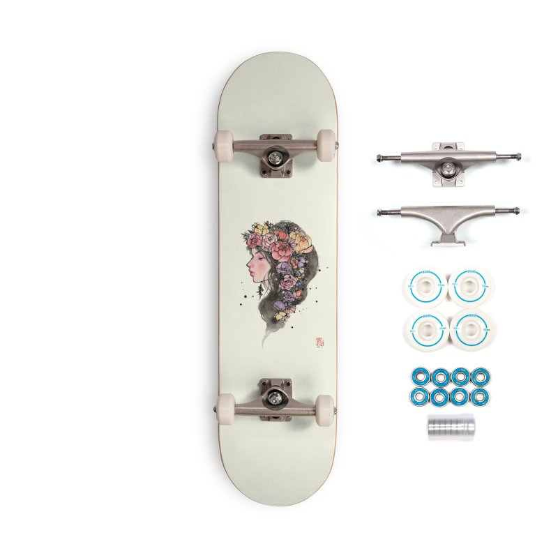 Dusk Accessories Skateboard by Stella Im Hultberg