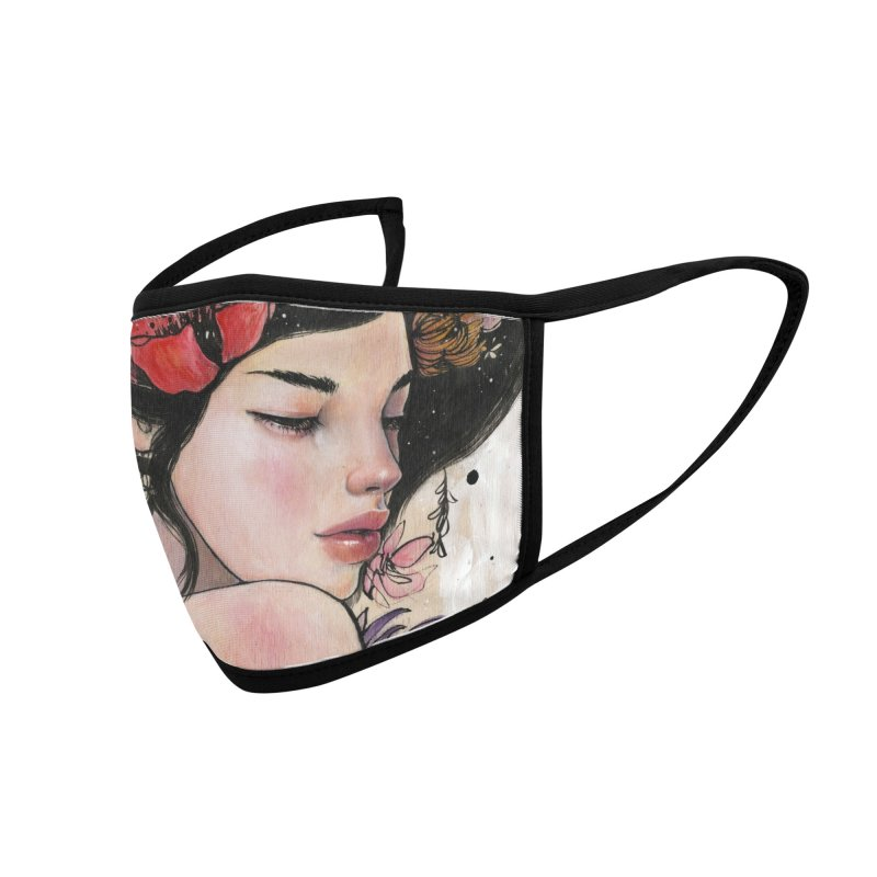 Here There and Everywhere Accessories Face Mask by Stella Im Hultberg