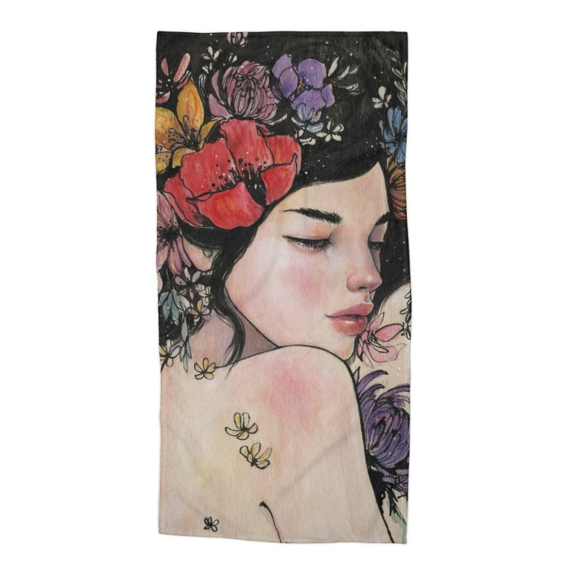 Here There and Everywhere Accessories Beach Towel by Stella Im Hultberg