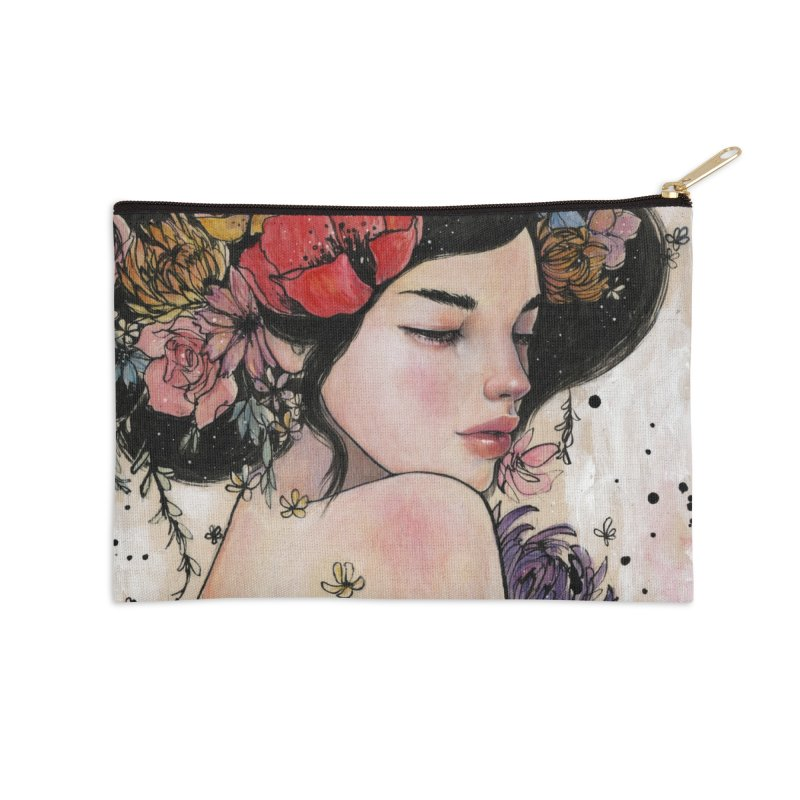 Here There and Everywhere Accessories Zip Pouch by Stella Im Hultberg