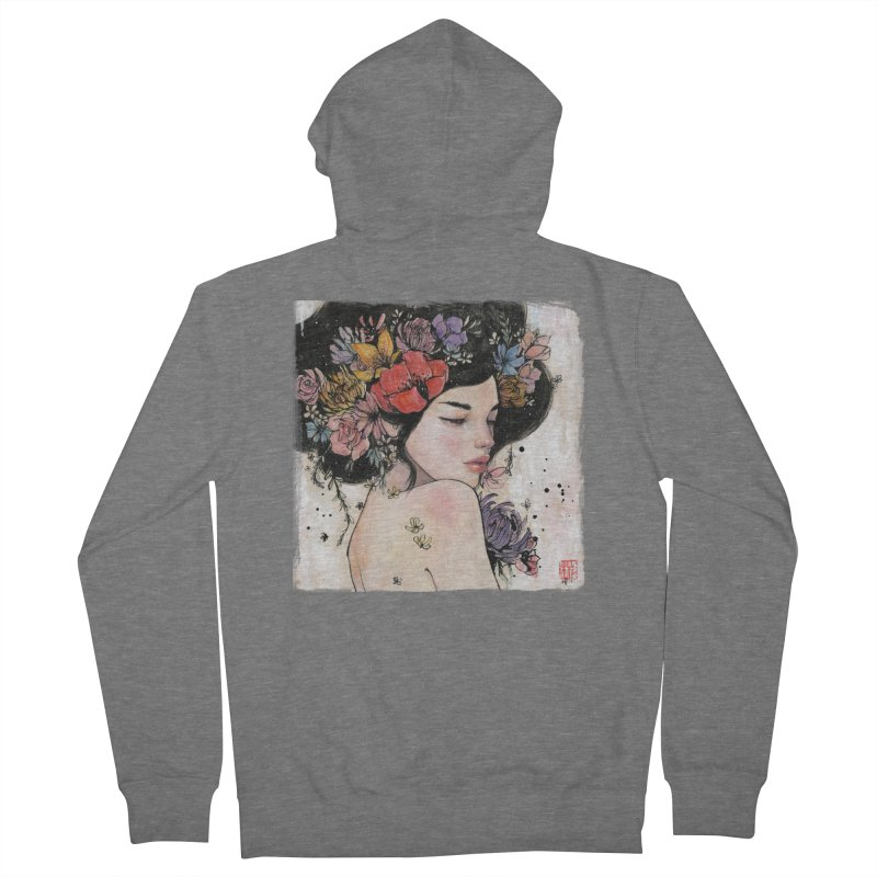 Here There and Everywhere Women's Zip-Up Hoody by Stella Im Hultberg