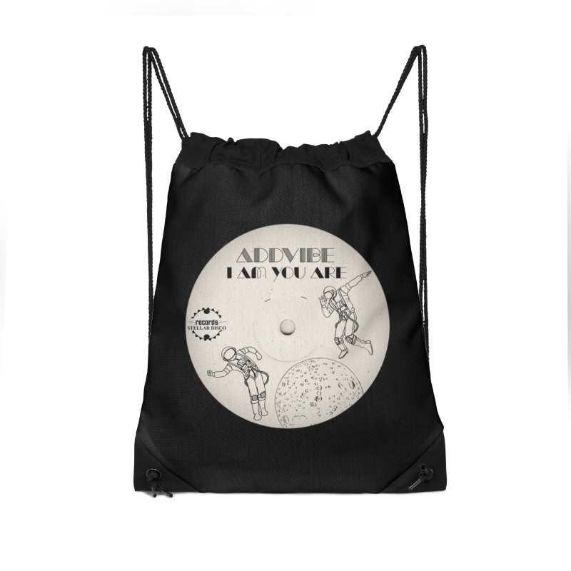 Stellar Disco Records Limited Addvibe Accessories Drawstring Bag Bag by Stellar Disco Records Merchandise