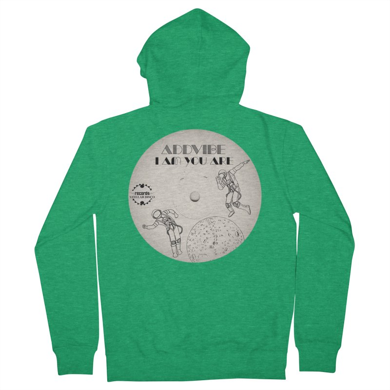 Stellar Disco Records Limited Addvibe Men's French Terry Zip-Up Hoody by Stellar Disco Records Merchandise