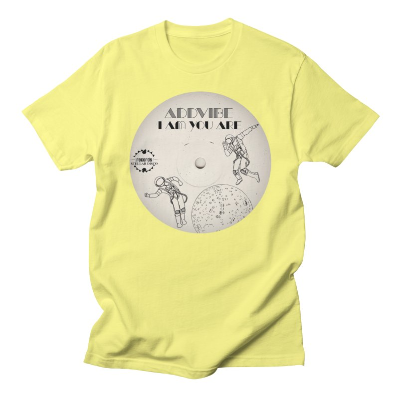 Stellar Disco Records Limited Addvibe Men's Regular T-Shirt by Stellar Disco Records Merchandise