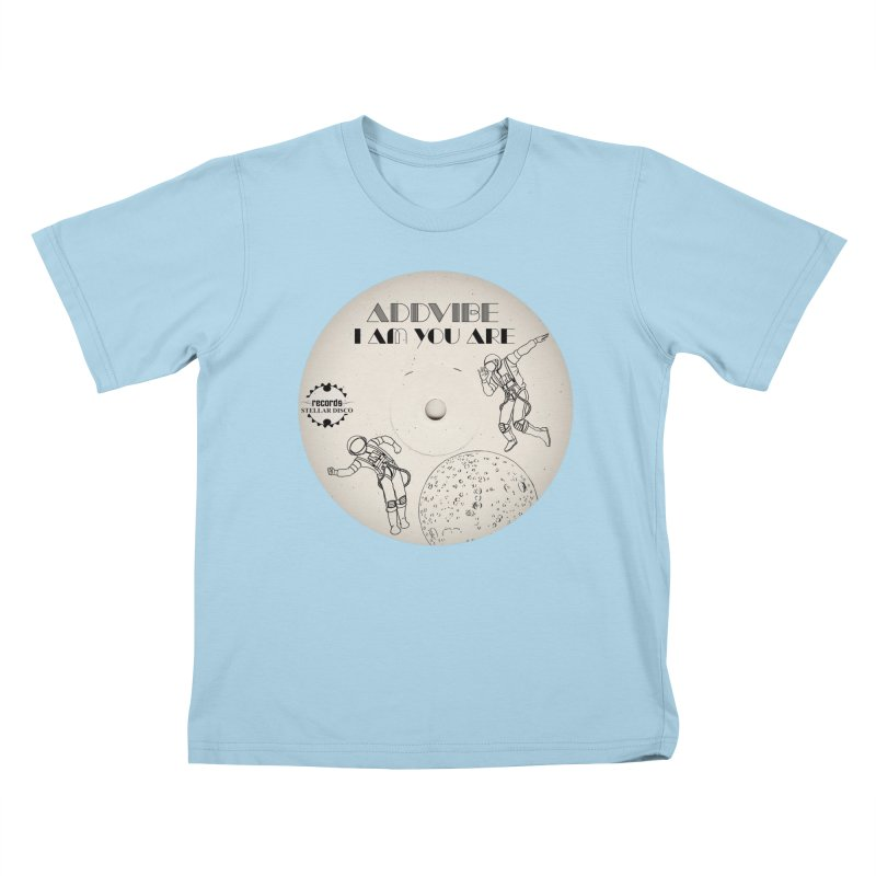 Stellar Disco Records Limited Addvibe Kids T-Shirt by Stellar Disco Records Merchandise
