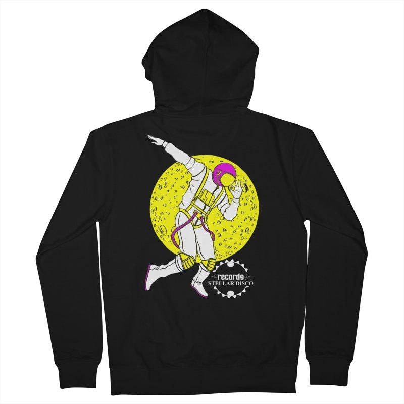 Stellar Disco Cosmonaut Men's French Terry Zip-Up Hoody by Stellar Disco Records Merchandise