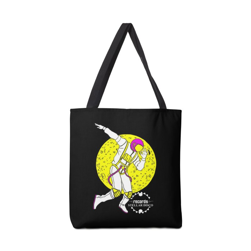 Stellar Disco Cosmonaut Accessories Tote Bag Bag by Stellar Disco Records Merchandise