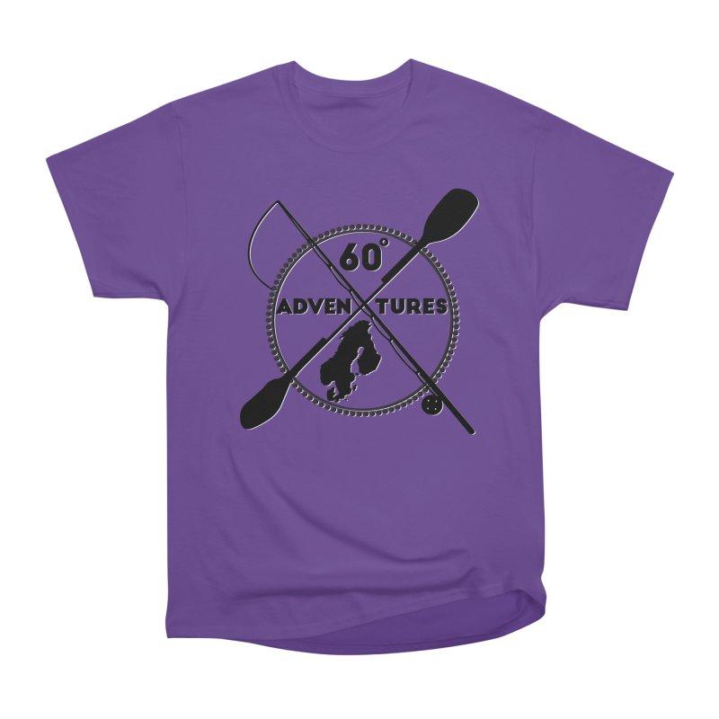 SixtyDegreesAdventures Men's T-Shirt by Stellar Disco Records Merchandise