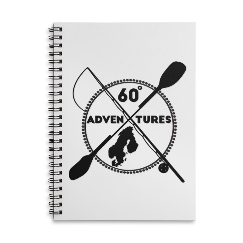 SixtyDegreesAdventures Accessories Notebook by Stellar Disco Records Merchandise