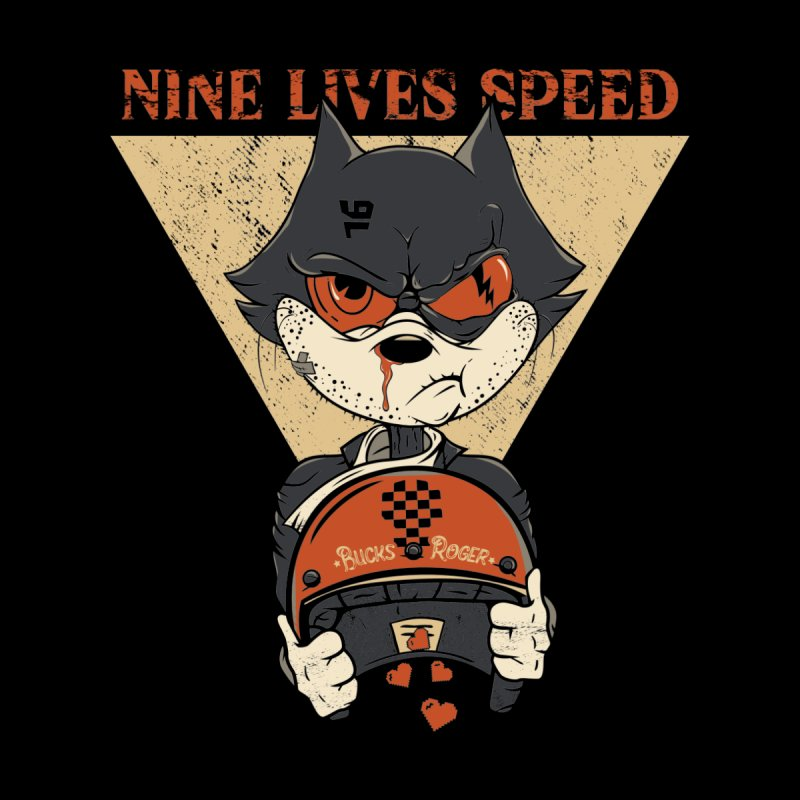 Nine Lives Speed Men's T-Shirt by stenaro's Artist Shop