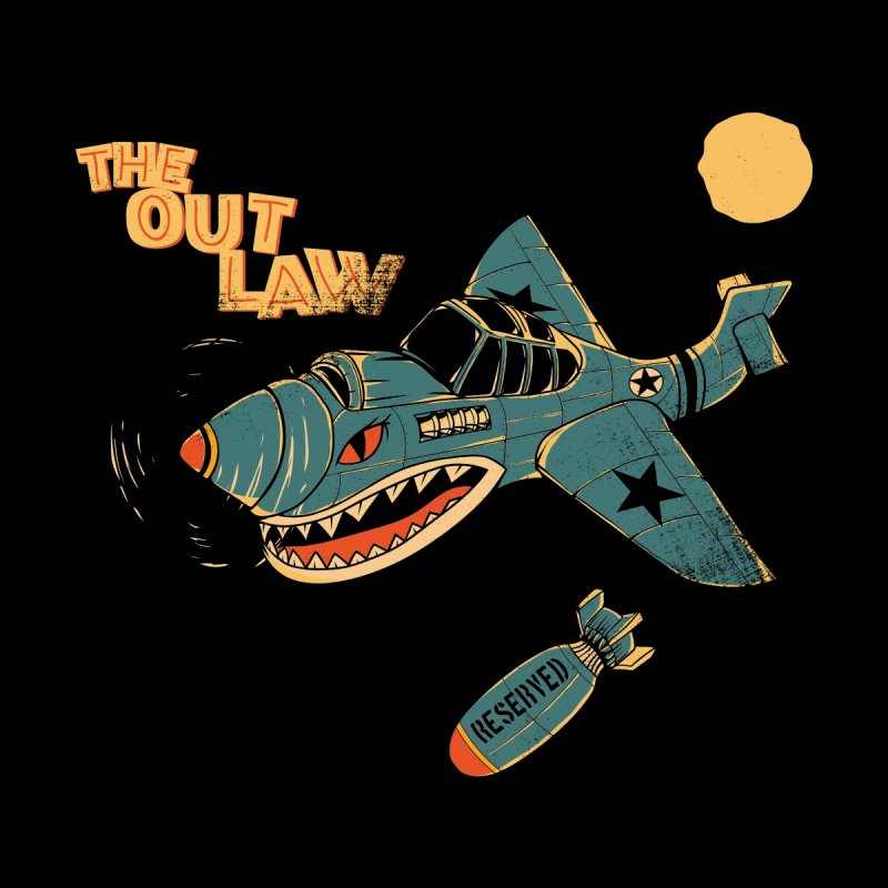 The Out Law Men's T-Shirt by stenaro's Artist Shop