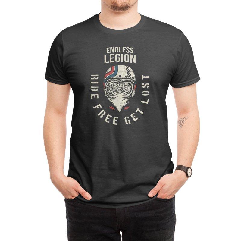 Ride Free Get Lost Men's T-Shirt by stenaro's Artist Shop