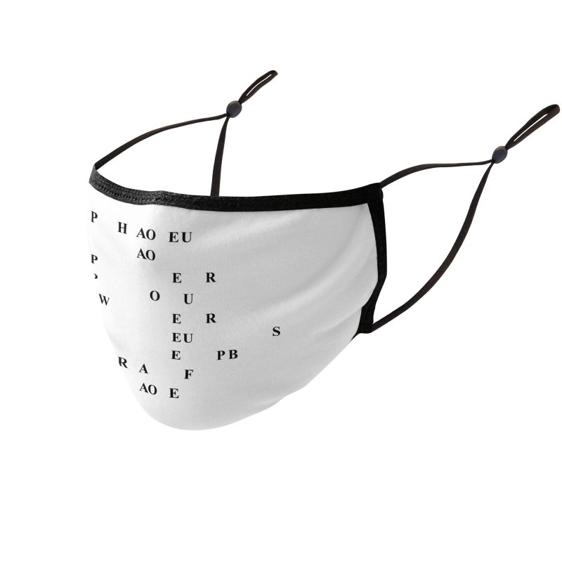 My Super Power is Stenography Accessories Face Mask by Stenograph's Artist Shop