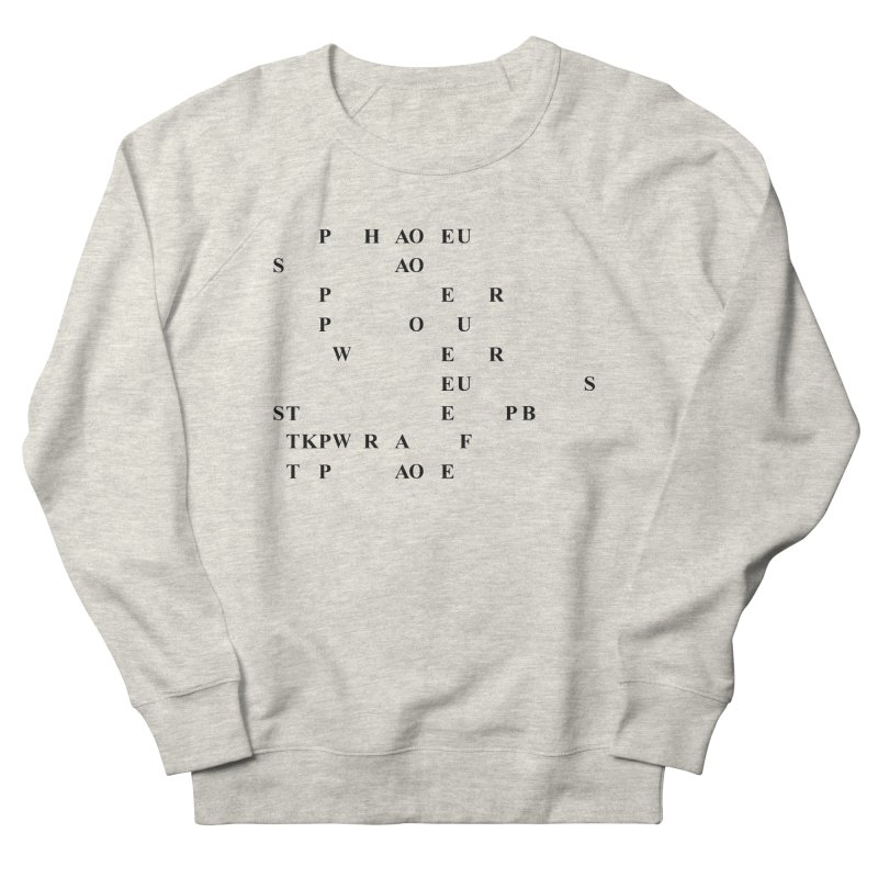 My Super Power is Stenography Women's French Terry Sweatshirt by Stenograph's Artist Shop