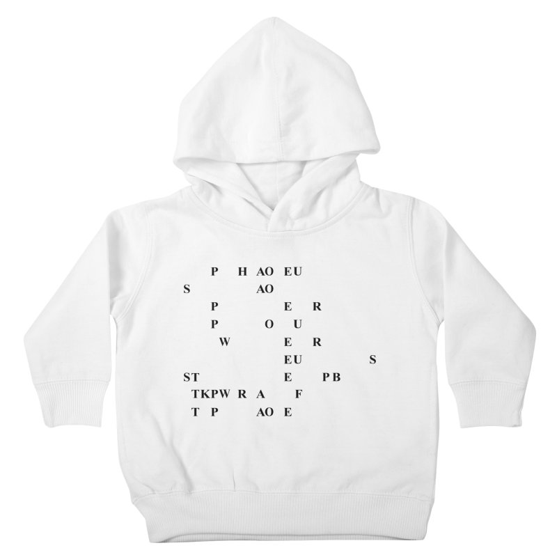 My Super Power is Stenography Kids Toddler Pullover Hoody by Stenograph's Artist Shop