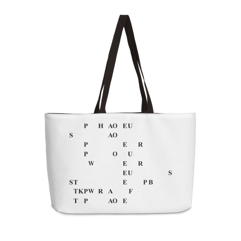 My Super Power is Stenography Accessories Weekender Bag Bag by Stenograph's Artist Shop