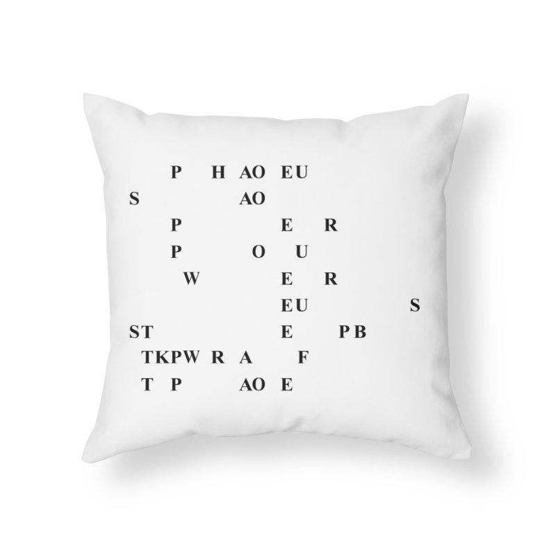 My Super Power is Stenography Home Throw Pillow by Stenograph's Artist Shop