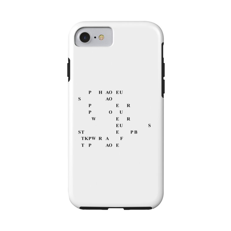 My Super Power is Stenography Accessories Phone Case by Stenograph's Artist Shop