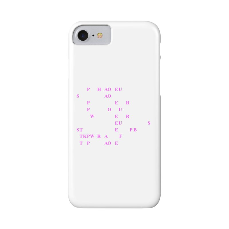My Super Power is Stenography, Pink Accessories Phone Case by Stenograph's Artist Shop