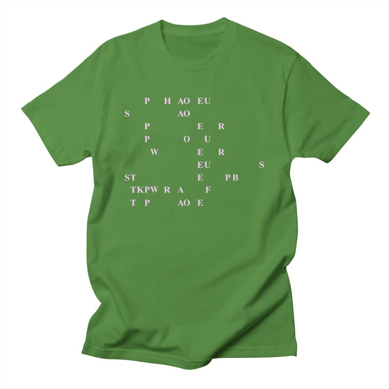 My Super Power is Stenography, Pink Women's Regular Unisex T-Shirt by Stenograph's Artist Shop