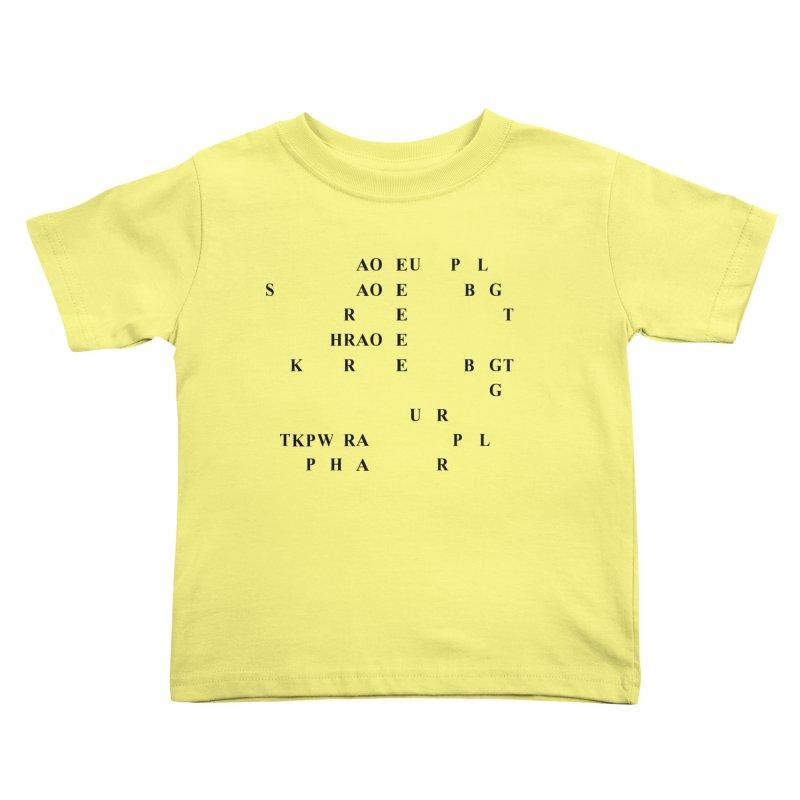 I'm Secretly Correcting Your Grammar Kids Toddler T-Shirt by Stenograph's Artist Shop