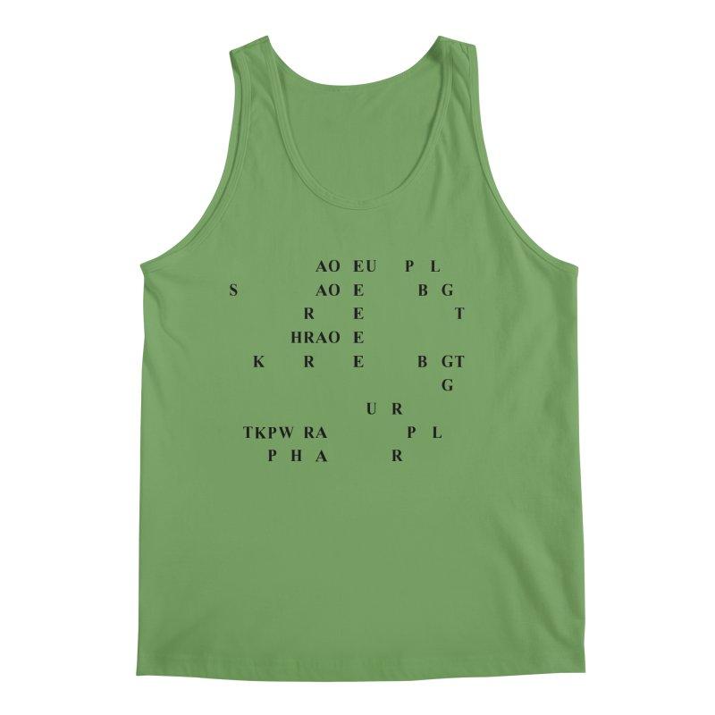 I'm Secretly Correcting Your Grammar Men's Tank by Stenograph's Artist Shop