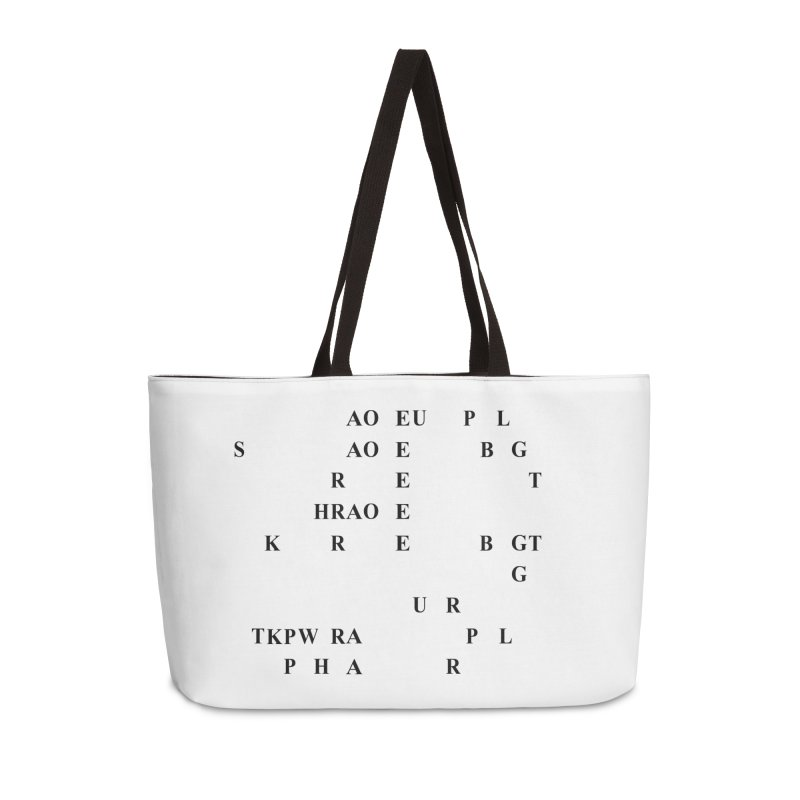 I'm Secretly Correcting Your Grammar Accessories Weekender Bag Bag by Stenograph's Artist Shop