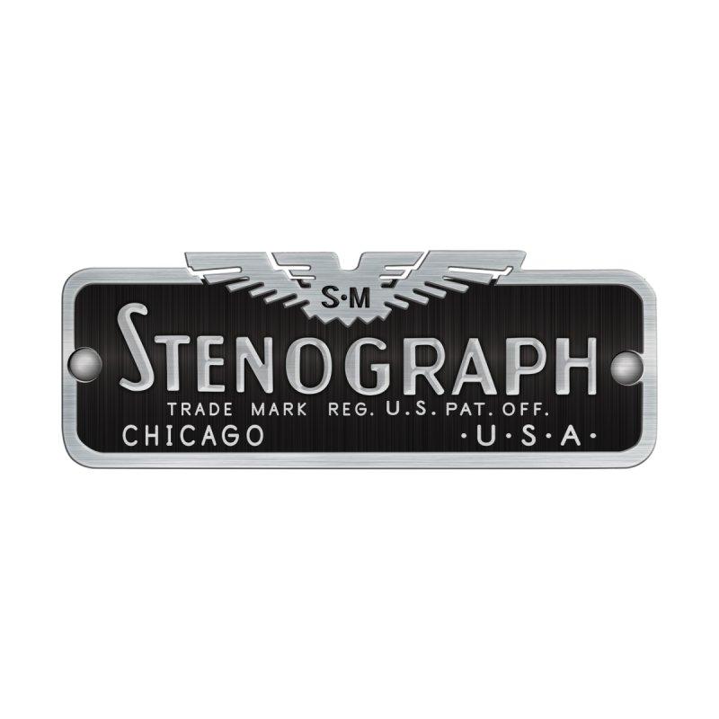 Stenograph Logo by Stenograph's Artist Shop
