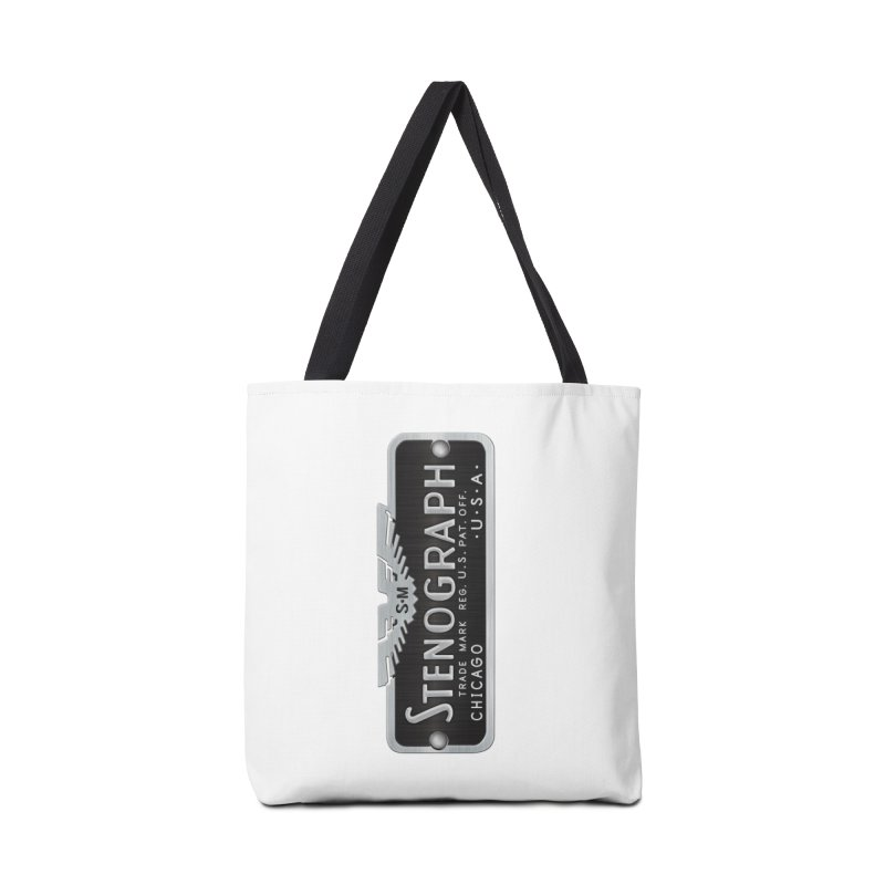 Stenograph Logo: Vintage Accessories Tote Bag Bag by Stenograph's Artist Shop