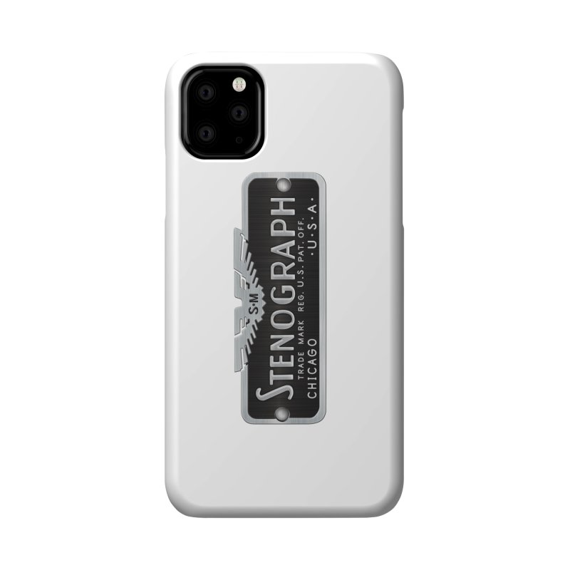 Stenograph Logo: Vintage Accessories Phone Case by Stenograph's Artist Shop