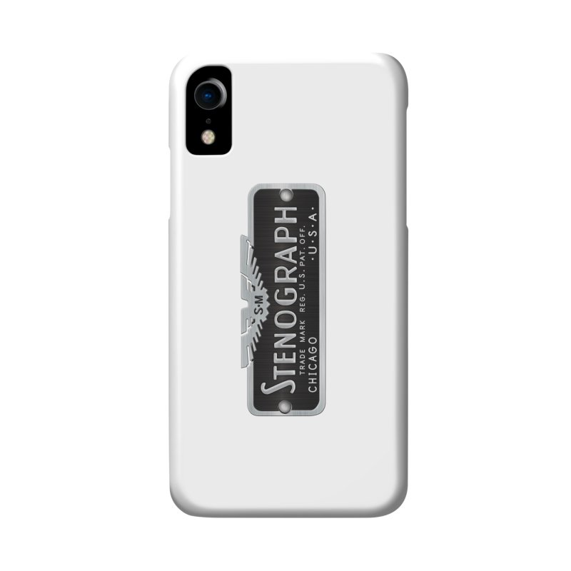 Stenograph Logo: Vintage Accessories Phone Case by Stenograph's Artist Shop