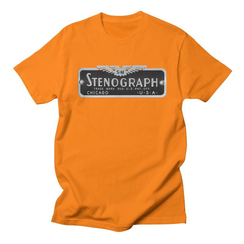 Vintage Logo Women's Regular Unisex T-Shirt by Stenograph's Artist Shop