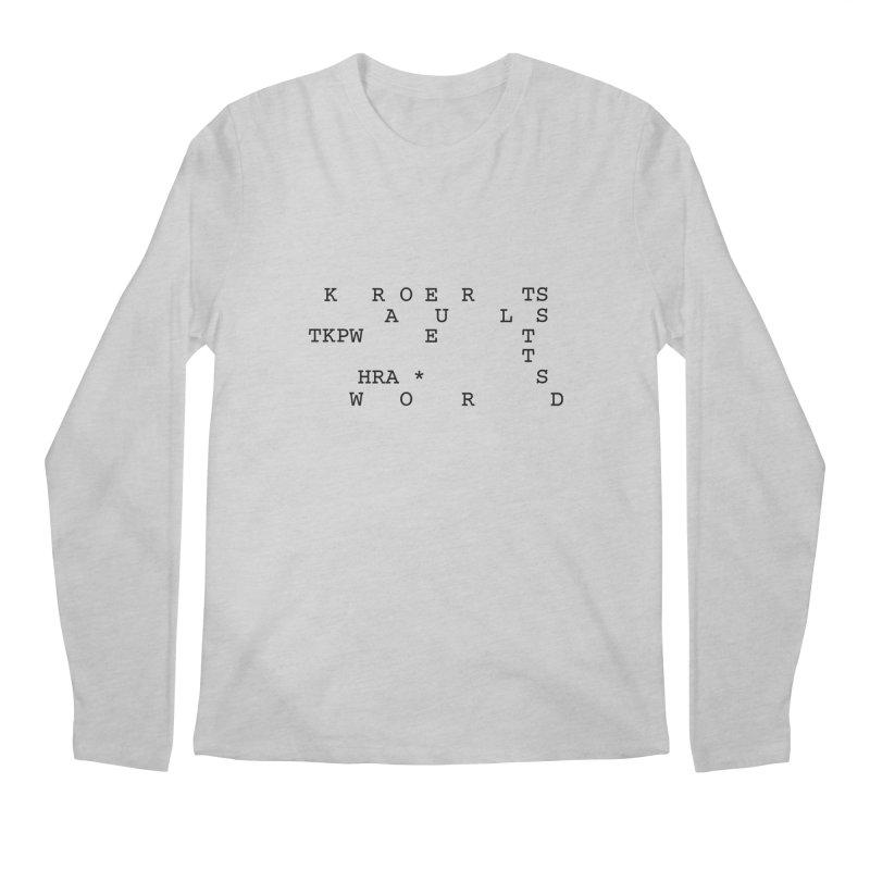 Court Reporters Always Get the Last Word Men's Regular Longsleeve T-Shirt by Stenograph's Artist Shop