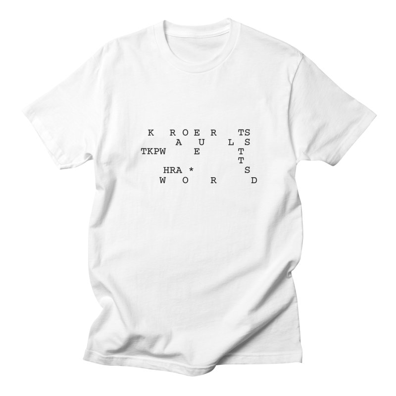 Court Reporters Always Get the Last Word Men's Regular T-Shirt by Stenograph's Artist Shop