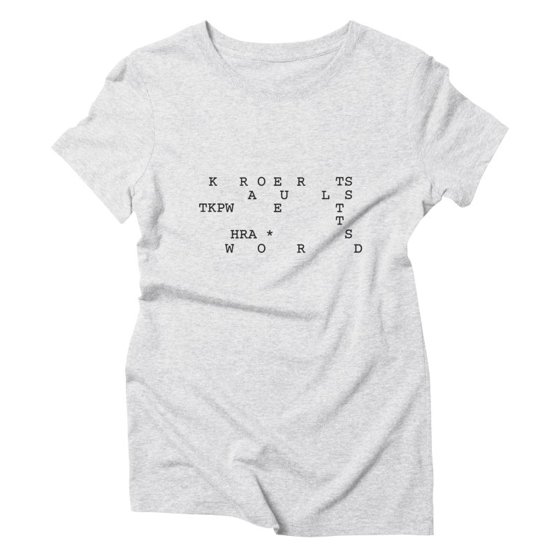 Court Reporters Always Get the Last Word Women's Triblend T-Shirt by Stenograph's Artist Shop