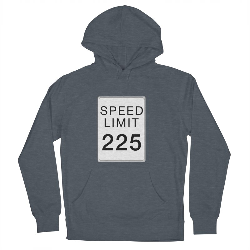 Speed Limit 225 Men's French Terry Pullover Hoody by Stenograph's Artist Shop