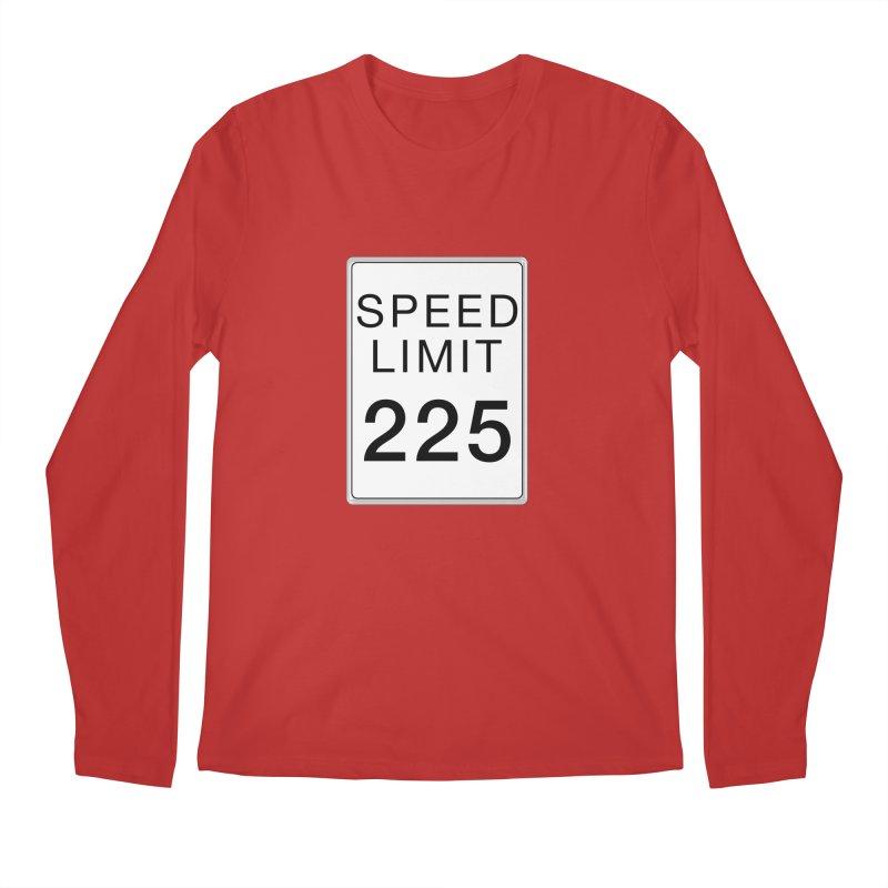 Speed Limit 225 Men's Regular Longsleeve T-Shirt by Stenograph's Artist Shop