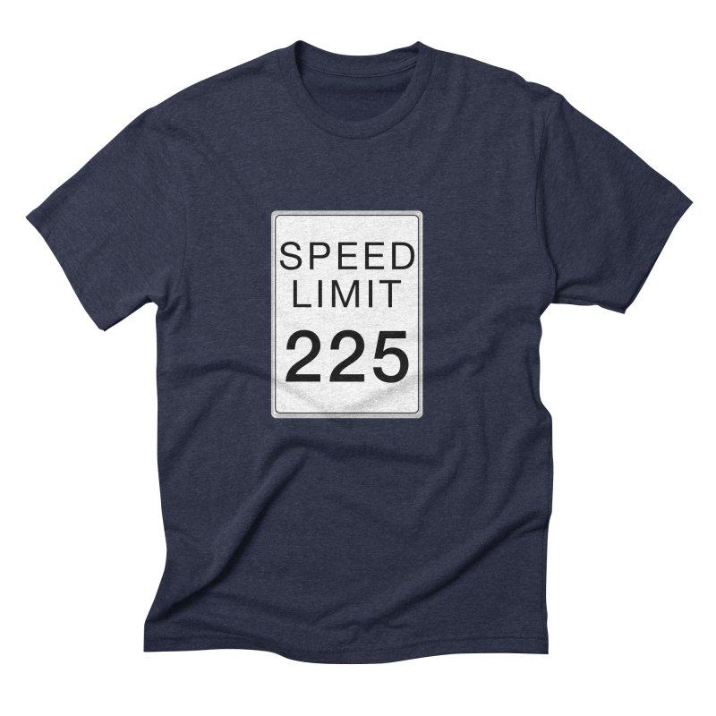 Speed Limit 225 Men's Triblend T-Shirt by Stenograph's Artist Shop