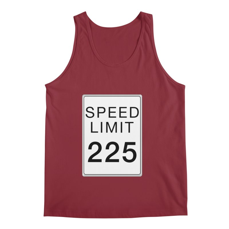 Speed Limit 225 Men's Regular Tank by Stenograph's Artist Shop