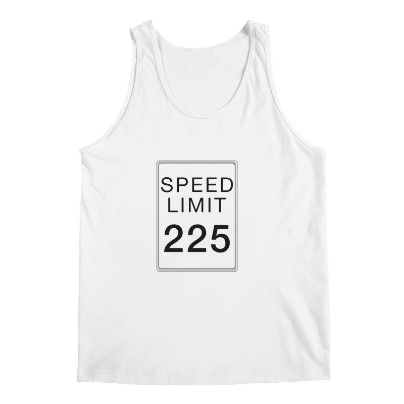 Speed Limit 225 Men's Regular Tank by Stenograph's Artist Shop