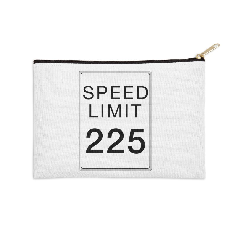 Speed Limit 225 Accessories Zip Pouch by Stenograph's Artist Shop