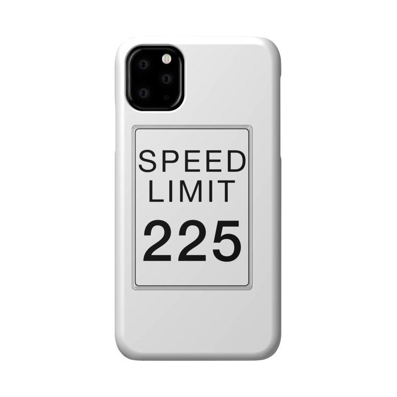 Speed Limit 225 Accessories Phone Case by Stenograph's Artist Shop