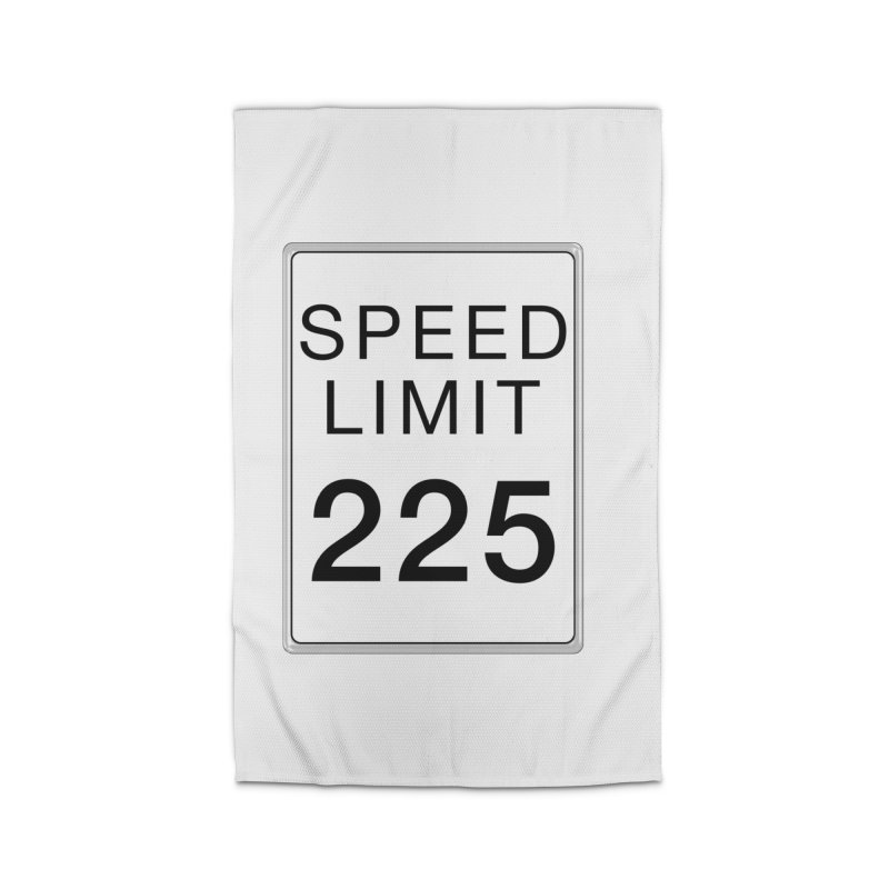 Speed Limit 225 Home Rug by Stenograph's Artist Shop
