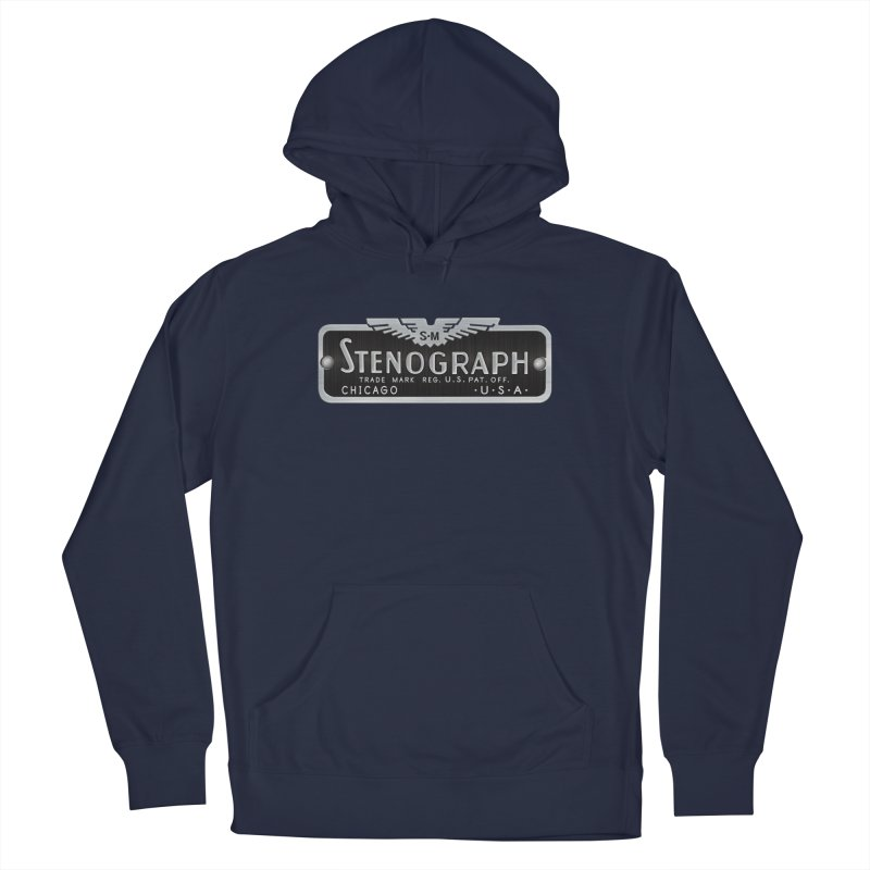Stenograph Vintage Logo Men's Pullover Hoody by Stenograph's Artist Shop