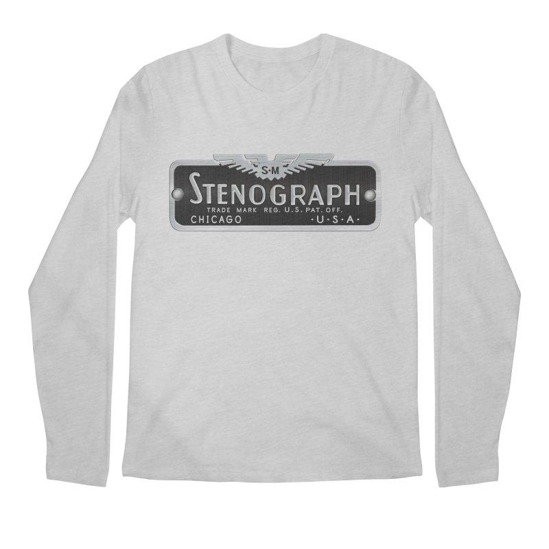 Stenograph Vintage Logo Men's Regular Longsleeve T-Shirt by Stenograph's Artist Shop