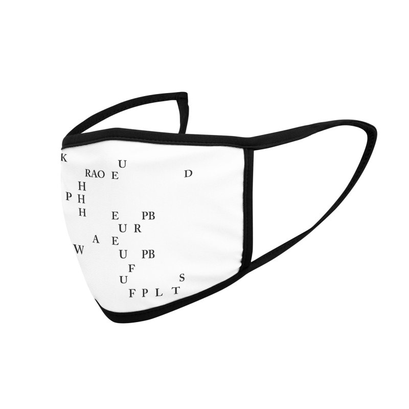 """""""Can you read this? Then you're one of us"""" Accessories Face Mask by Stenograph's Artist Shop"""